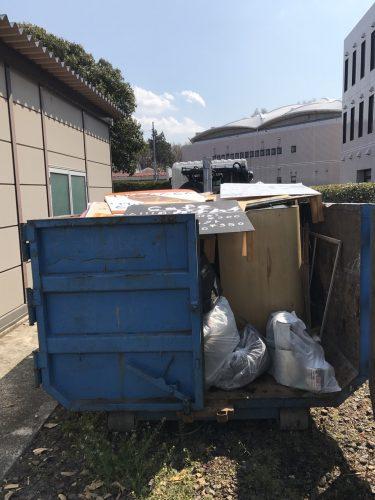 小平 大学の粗大ごみ回収